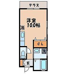 [テラスハウス] 長崎県諫早市有喜町 の賃貸【/】の間取り
