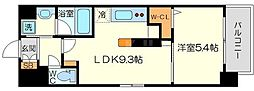 (仮称)ニコニコタクシー株式会社様プロジェクト 5階1LDKの間取り