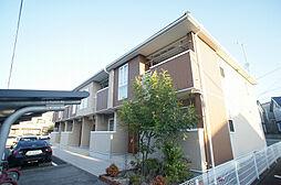 福岡県古賀市今の庄2の賃貸アパートの外観