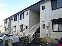 千葉県松戸市八ケ崎の賃貸アパートの外観