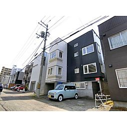 北海道札幌市中央区南九条西13丁目の賃貸アパートの外観