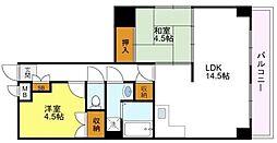 ふぁみーゆアビコ5[3階]の間取り
