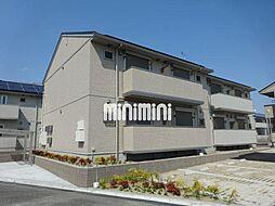 愛知県名古屋市中川区横井2丁目の賃貸アパートの外観