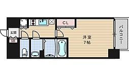 ファーストステージ江戸堀パークサイド[5階]の間取り