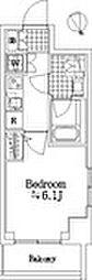 プレール・ドゥーク銀座EAST II[5階]の間取り