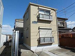 東京都立川市西砂町5丁目の賃貸アパートの外観