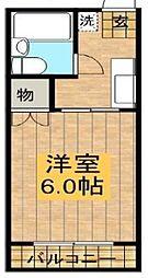 ティーズハイツ実籾[102号室号室]の間取り