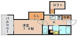 アクタス博多Vタワー[11階]の間取り