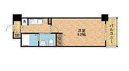 プロシード京橋[1101号室]の間取り