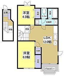 カモミール2[2階]の間取り