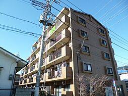 東京都青梅市河辺町7丁目の賃貸マンションの外観