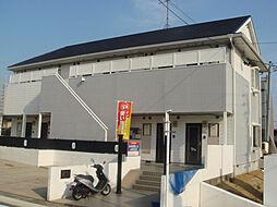 愛知県名古屋市名東区陸前町の賃貸アパートの外観