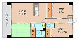 ウィンドウ2[2階]の間取り