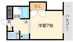 京和マンション[2階]の間取り