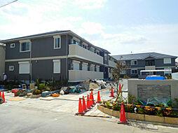 大阪府守口市南寺方中通2丁目の賃貸アパートの外観