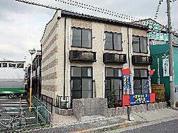 大阪府大阪市平野区長吉長原4の賃貸アパートの外観