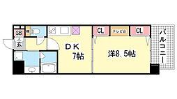 KAISEI新神戸[5階]の間取り