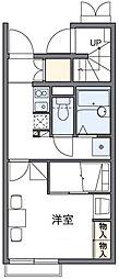 レオパレスMIYABI[1階]の間取り