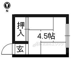【敷金礼金0円!】京福電気鉄道北野線 等持院駅 徒歩9分