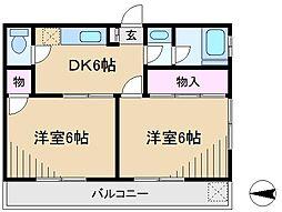 伏木ビル[2階]の間取り