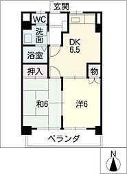 流通ビル[3階]の間取り