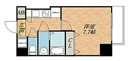 S-RESIDENCE緑橋駅前[12階]の間取り