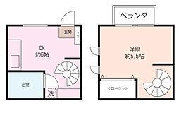 [タウンハウス] 神奈川県横浜市泉区緑園2丁目 の賃貸【/】の間取り