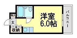 ロイヤルメゾン南武庫之荘[4階]の間取り