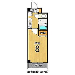 エクシードIII[406号室]の間取り
