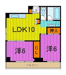 ML21[6階]の間取り
