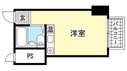 御影バーディーライフ[3階]の間取り