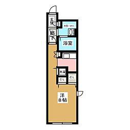 愛知県名古屋市千種区内山2丁目の賃貸マンションの間取り