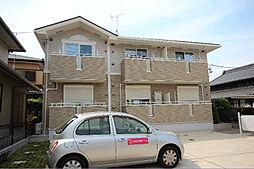 愛知県名古屋市中川区丸米町1の賃貸アパートの外観