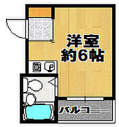 AZ26[2階]の間取り