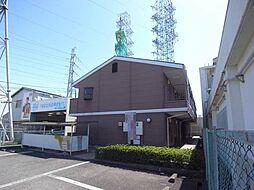 兵庫県神戸市西区森友1丁目の賃貸アパートの外観
