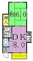 パブリックハウス平井[1階]の間取り