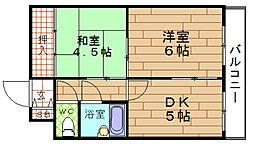ブリリアンマンション[3階]の間取り