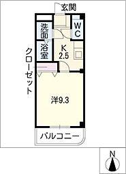 メルベーユコノミ[1階]の間取り