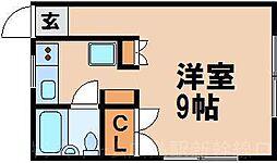カーサ牛田[2階]の間取り