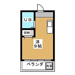 明治館岡崎[2階]の間取り