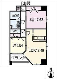 S−FORT葵[11階]の間取り