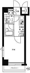ルーブル錦糸町[102号室]の間取り