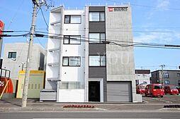 北海道札幌市豊平区美園四条7丁目の賃貸マンションの外観