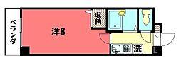 第1みやぎビル[406号室号室]の間取り