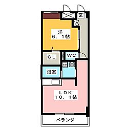 グランパメゾン[1階]の間取り