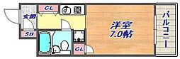 メゾン・ド・六甲パート3[305号室]の間取り