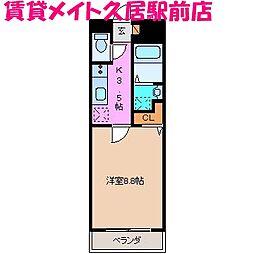 SHG島崎[3階]の間取り