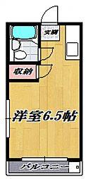 アゼリア宮崎台[208号室号室]の間取り