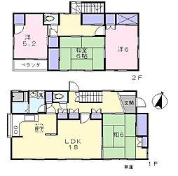 [一戸建] 東京都練馬区東大泉1丁目 の賃貸【/】の間取り