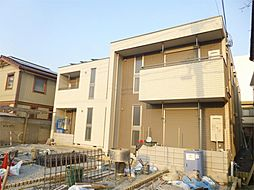 大阪府茨木市新中条町の賃貸マンションの外観